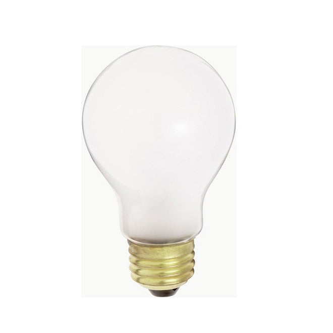Satco S5010 25W 12V A19 Frosted E26 Medium Base Incandescent - 6 light bulbs