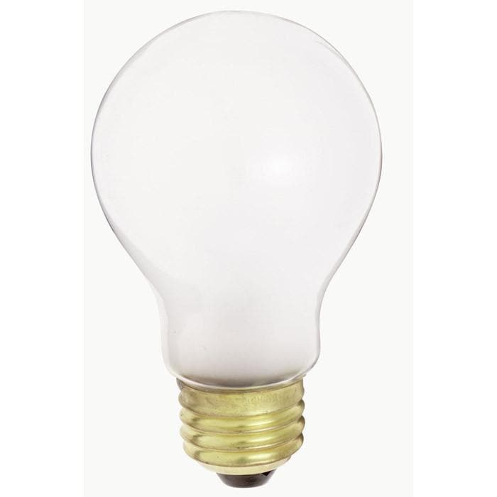 Satco S5021 50W 34V A19 Frosted E26 Medium Base Incandescent bulb