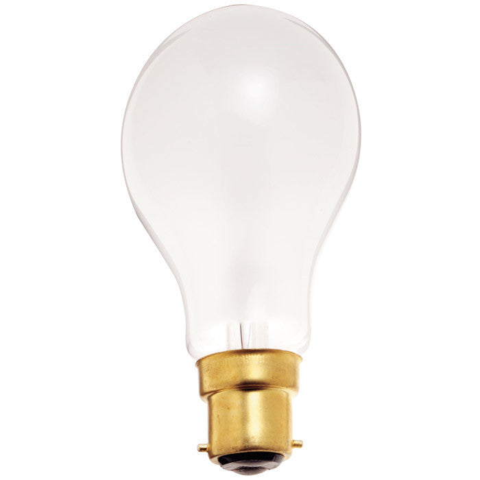 Satco S5030 40W 130V A19 Frosted B22D Bayonet Incandescent light bulb