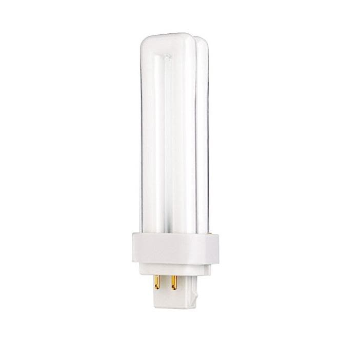 Satco S6331 13W Quad Tube 4-Pin G24Q-1 Plug-In base 3500K fluorescent bulb