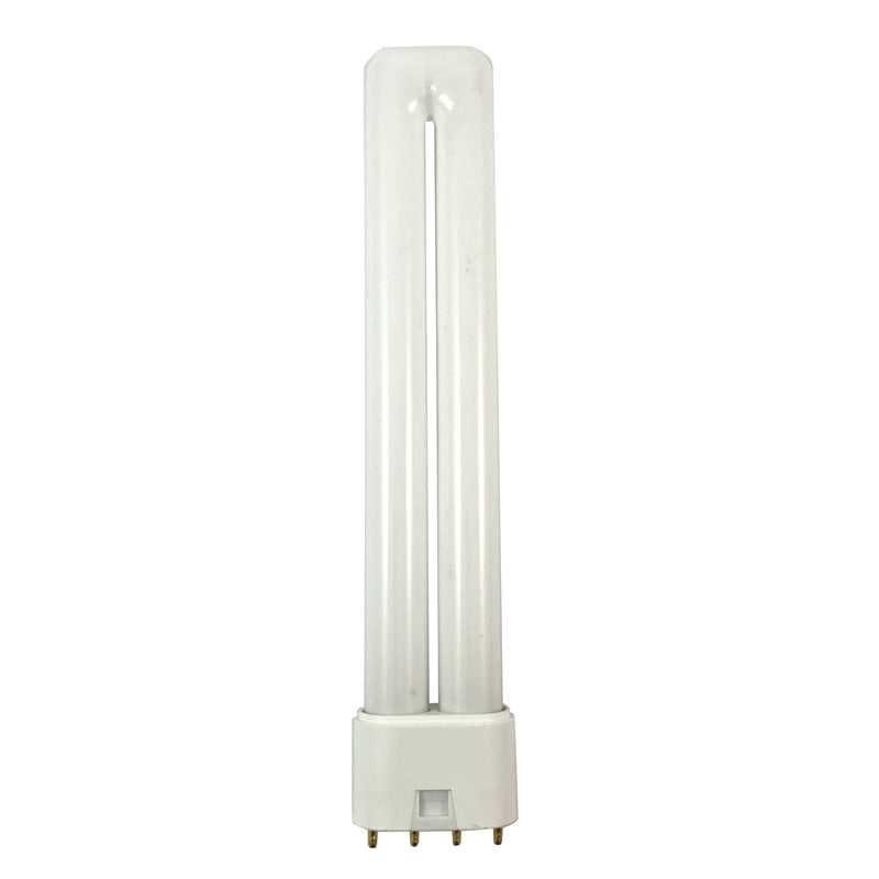 Satco S6759 18W Long Single Tube 4-Pin 2G11 Plug-In base 4100K fluorescent bulb