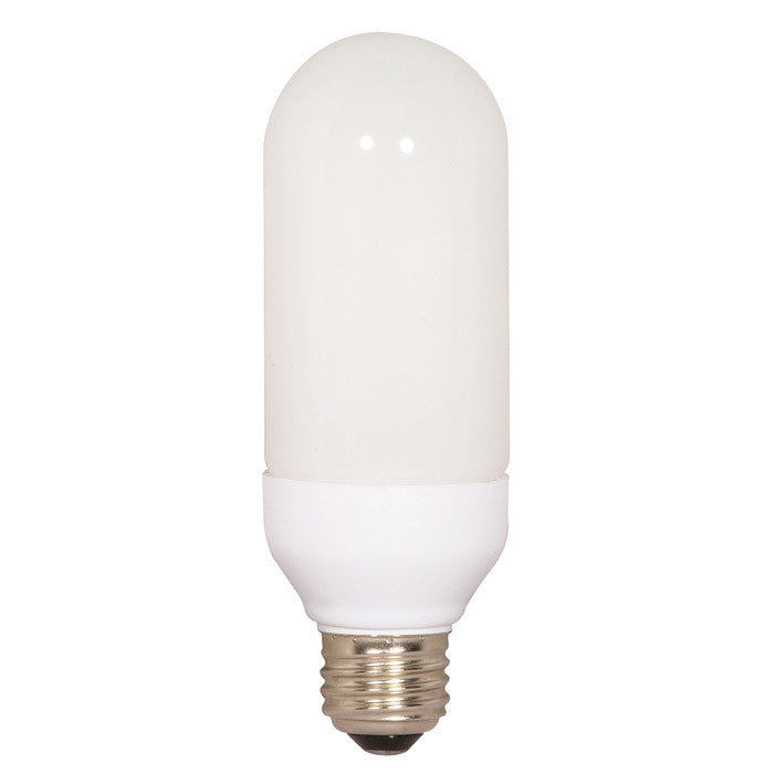 Satco S7307 15W Bullet Screw-In 2700K fluorescent bulb