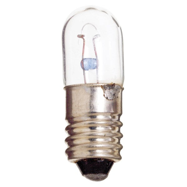 10PK - Satco S7961 1487 2.8W 14V T3.25 E10 Base Miniature light bulb