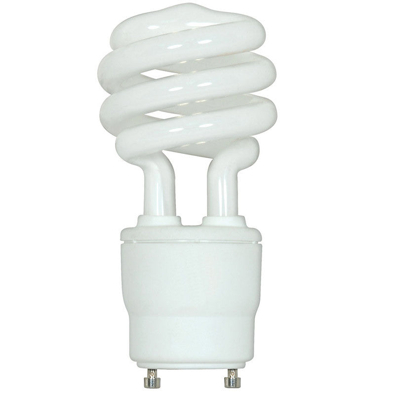 Satco 23W Mini Twist 2700K GU24 base Compact Fluorescent Light Bulb