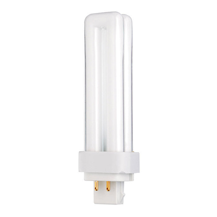 Satco S8336 18W Quad Tube 4-Pin G24Q-2 Plug-In base 4100K fluorescent bulb