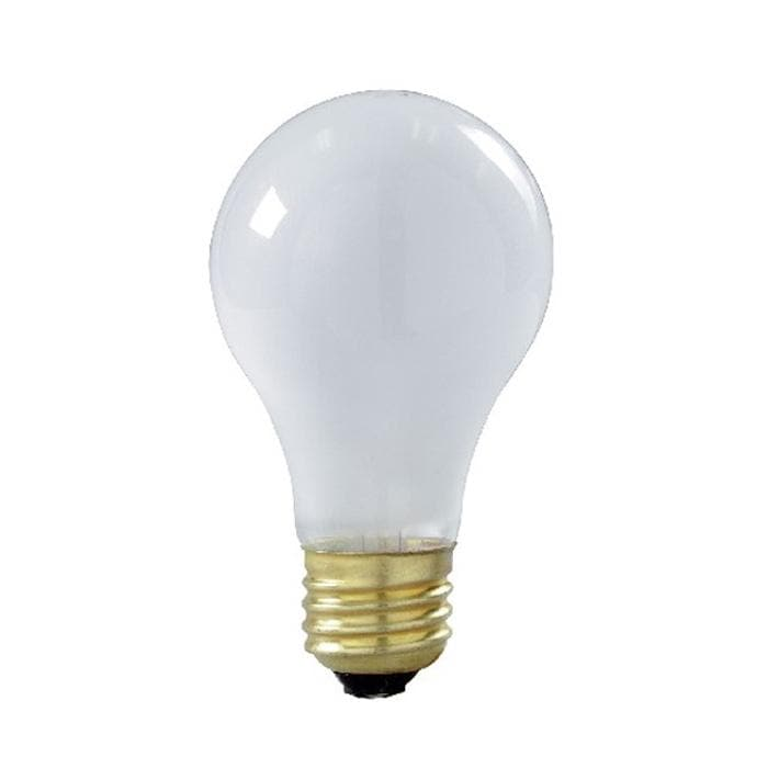 Satco S8505 75W 130V A19 Frosted E26 Medium Base Incandescent - 4 bulbs