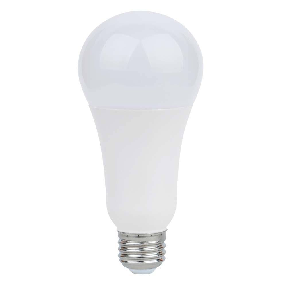 Satco 5/15/21w A21 LED 3-way Frosted 3000K Medium base 120 volts