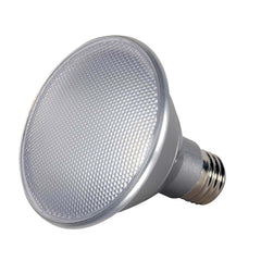 Satco 13w PAR30 Short Neck LED 3000K 40 deg. beam spread Medium base 120 volts