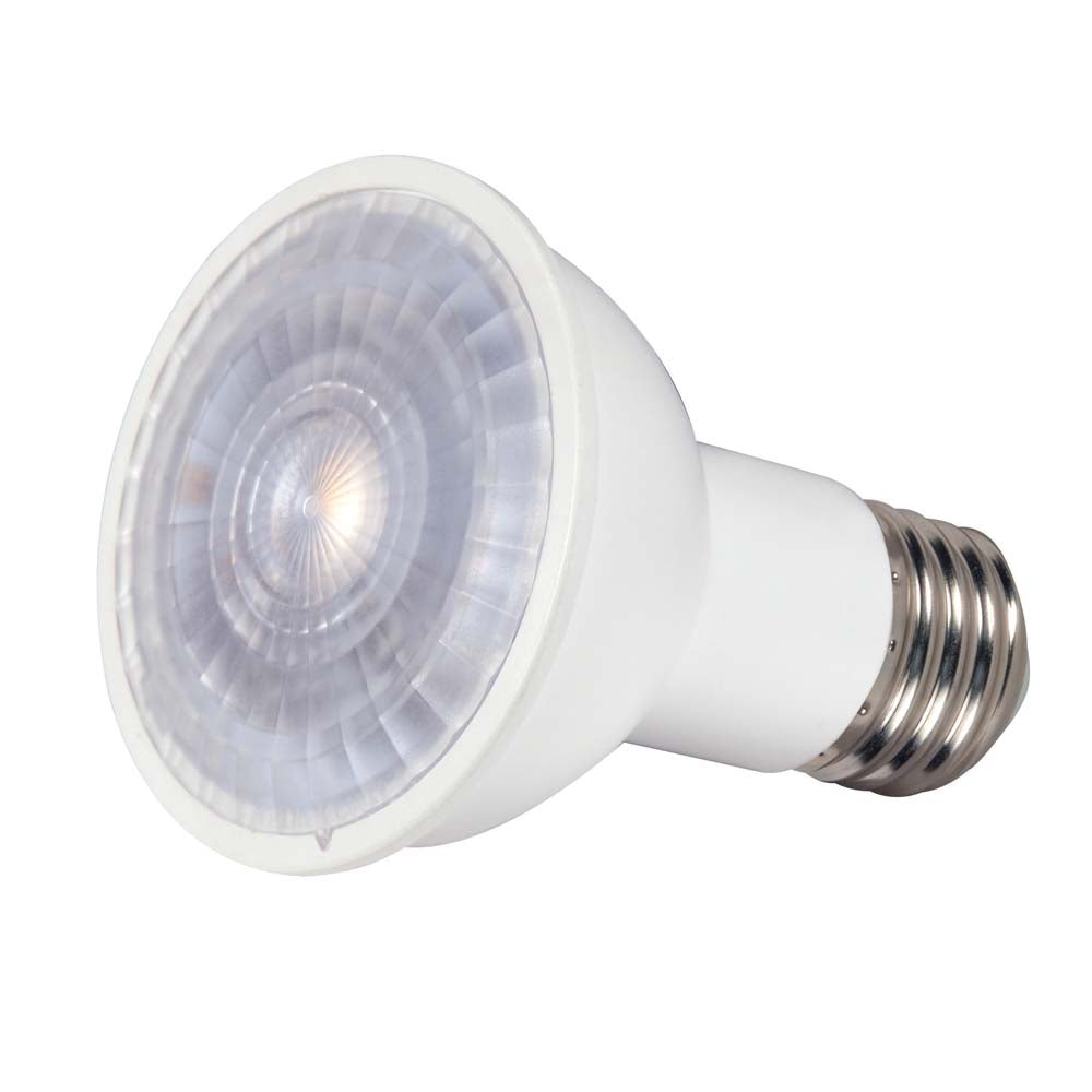 Satco 4w 120v PAR16 LED Lensed E26 Medium Base 360 Lumens 3000k