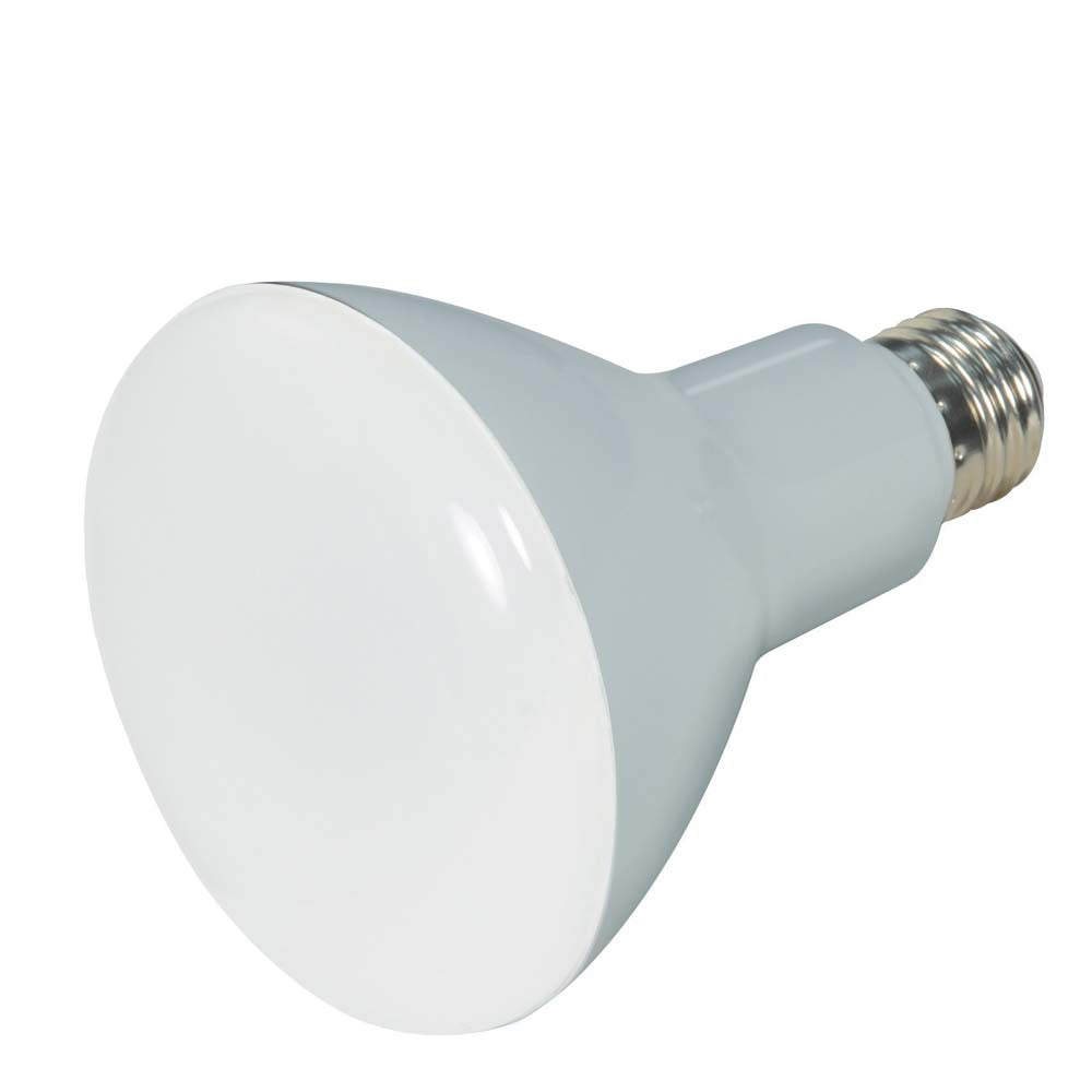 Satco 9.5w BR30 LED 5000K Medium base 120 volts Dimmable