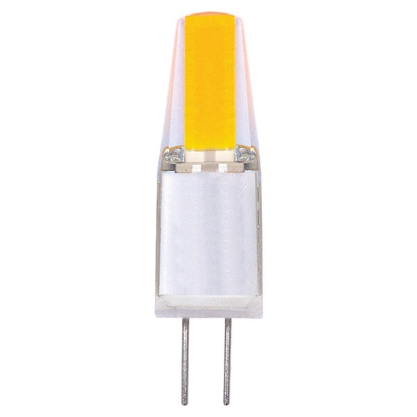 Satco 1.6w T3 G4 LED 12v 3000K Soft White Carded lamps