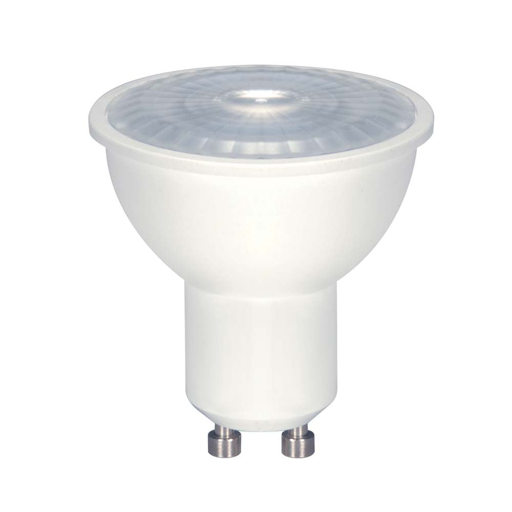 Satco 6.5w LED MR16 LED 3000K 40 deg. beam spread GU10 base 120 volts Carded