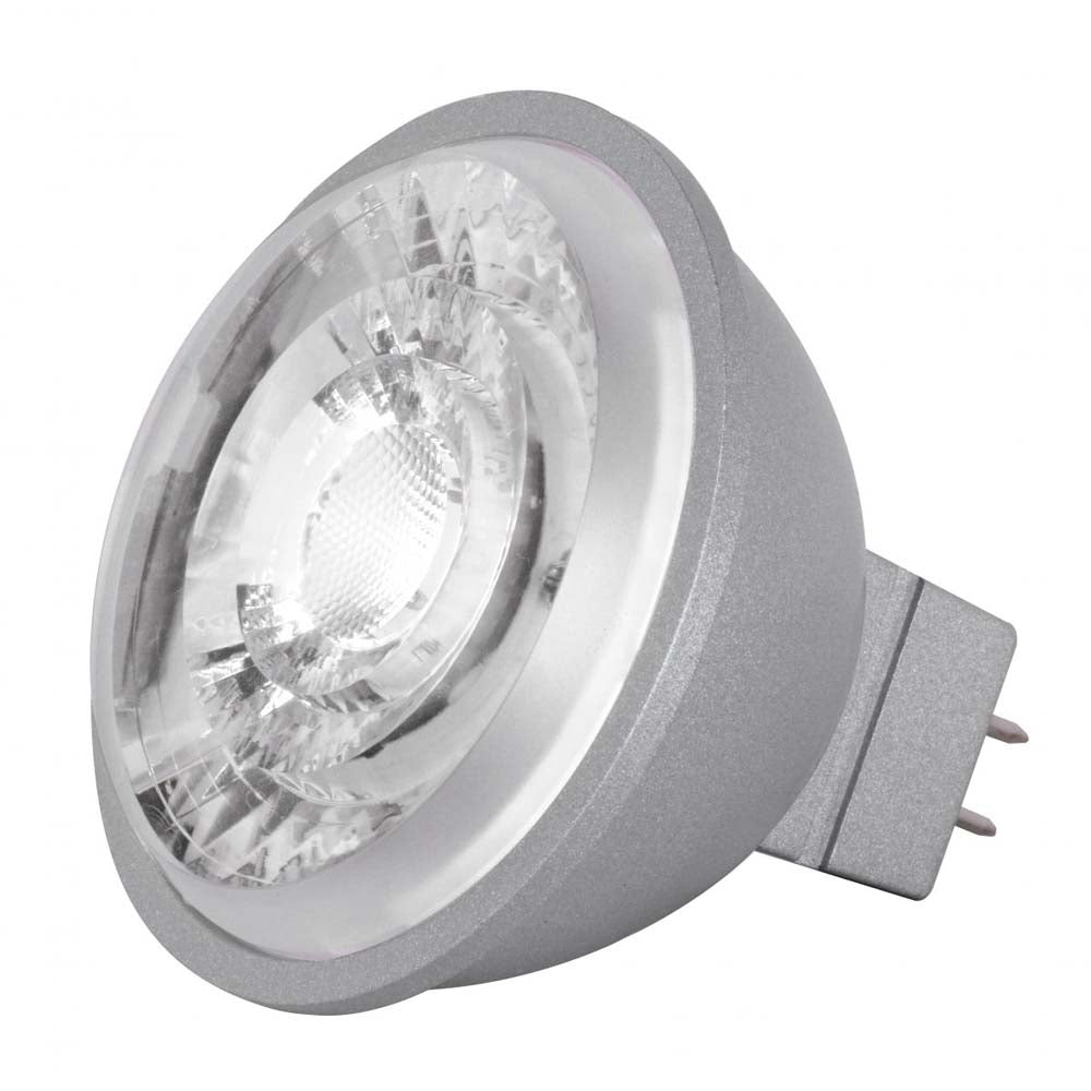 Satco 8w LED MR16 Expanded Line 5000K 15 Degrees Beam GU5.3 Base 12v - 75w-equiv