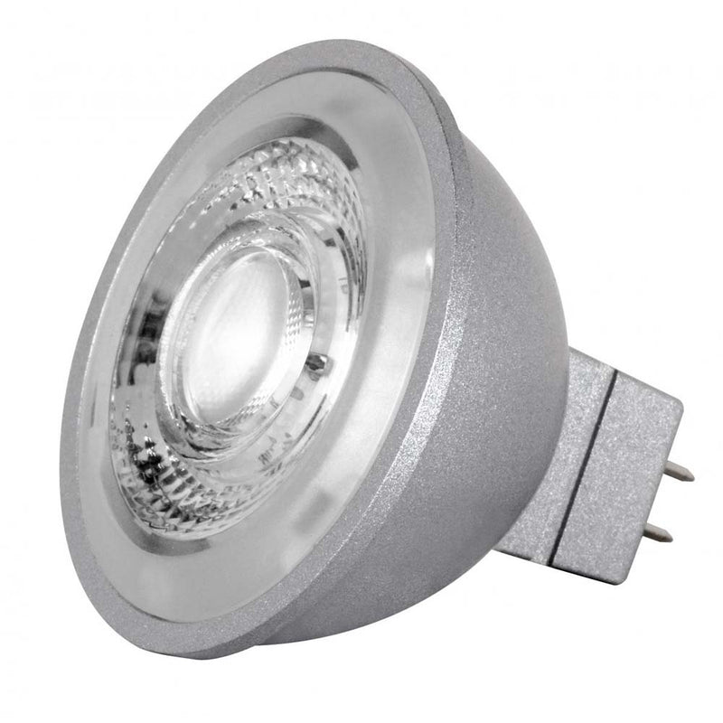 Satco 8w LED MR16 Expanded Line 5000K 40 Degrees Beam GU5.3 Base 12v - 75w-equiv