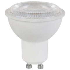 6.5W 120V LED MR16 25' Beam Spread GU10 base 3000K Warm White Lamps