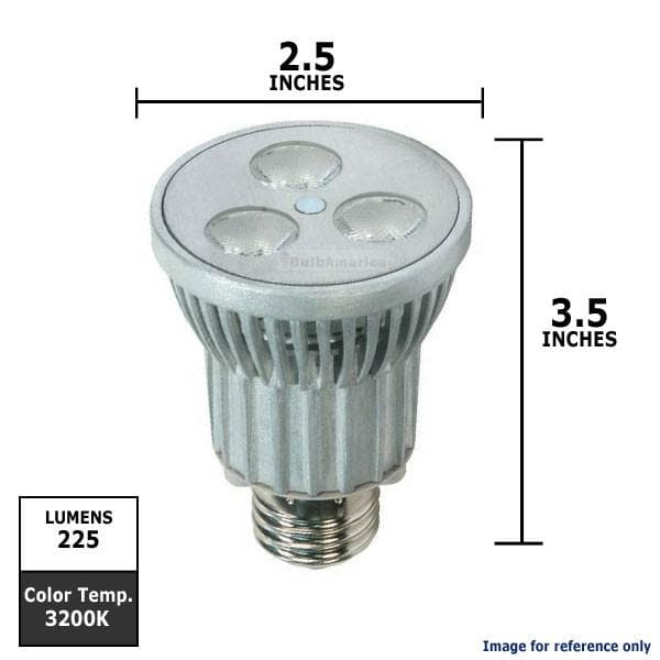 KolourOne 7W PAR20 LED 3200K Flood FL40 Light Bulb