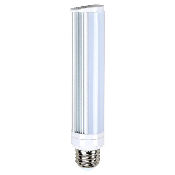 Satco S8755 8W LED PL Medium 2700K Warm White 675 Lumens E26
