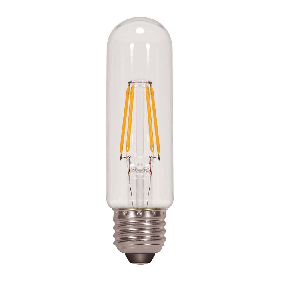 Satco 4.5w T10 LED Clear Medium base 4000K 450 lumens 120 volts