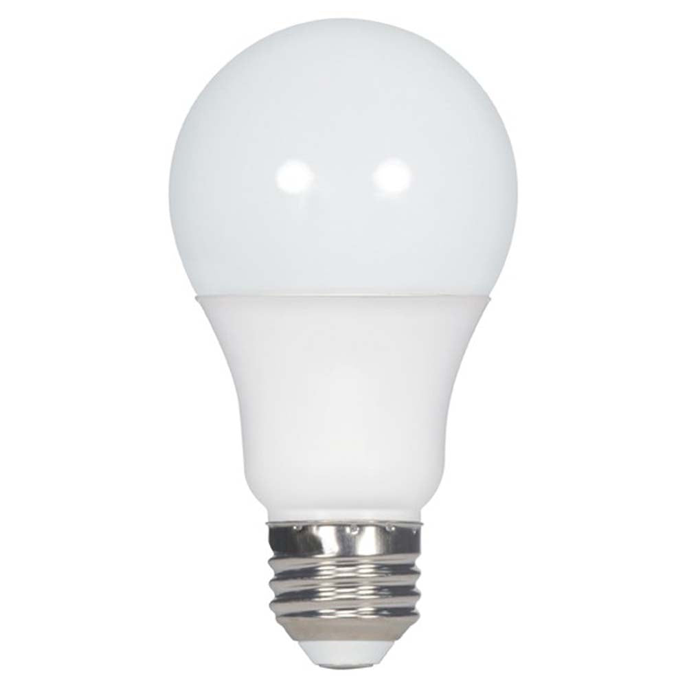 8.5w A19 LED 120-277v 600Lm 3000K Warn White Non-Dimmable E26 Base Bulb