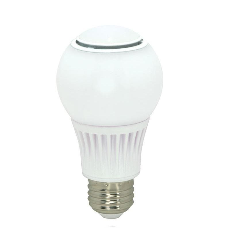 Satco S9034 9.8w 120v A-Shape A19 2700k Omni Directional Dimmable White LED Light Bulb