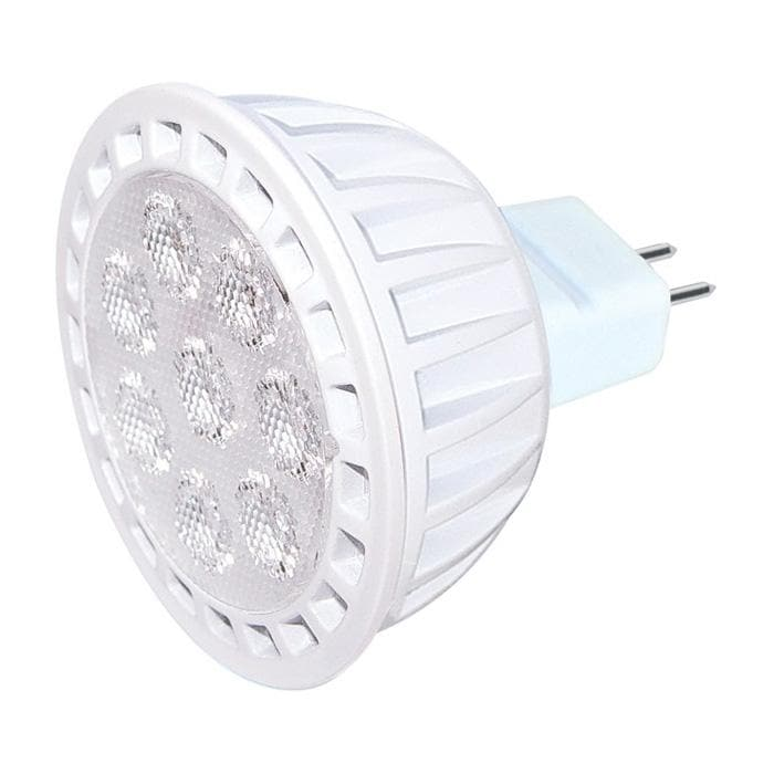 Satco 7w 12v MR16 LED Flood Warm White Dimmable Light Bulb