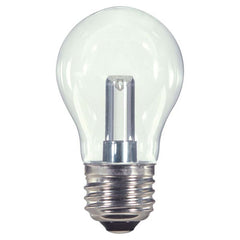 1.4w LED 120v A15 Clear E26 Medium base 2700K Warm White