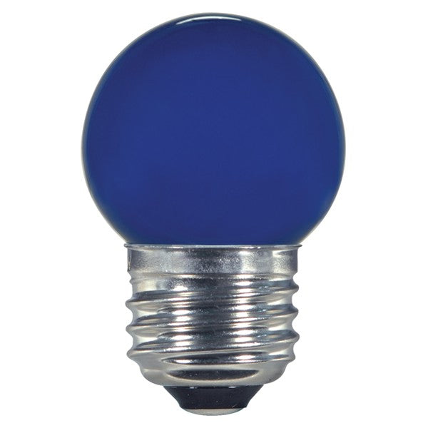 1.2w S11 LED 120v Ceramic Blue E26 Medium base