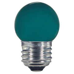 1.2w S11 LED 120v Ceramic Green E26 Medium base