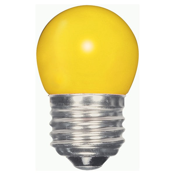 1.2w S11 LED 120v Ceramic Yellow E26 Medium base