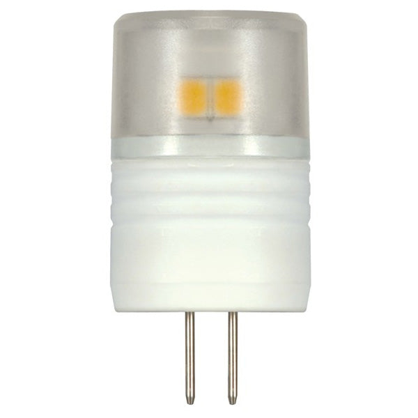 Satco S9220 2.3 Watt 3000K T3 Replacement G4 Base LED Light Bulb