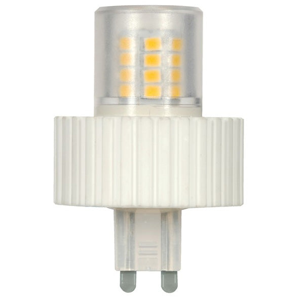Satco S9543 JC Silicon LED Dimmable 12V 1.6W G4 Bi-Pin Base 5000K Natural Light