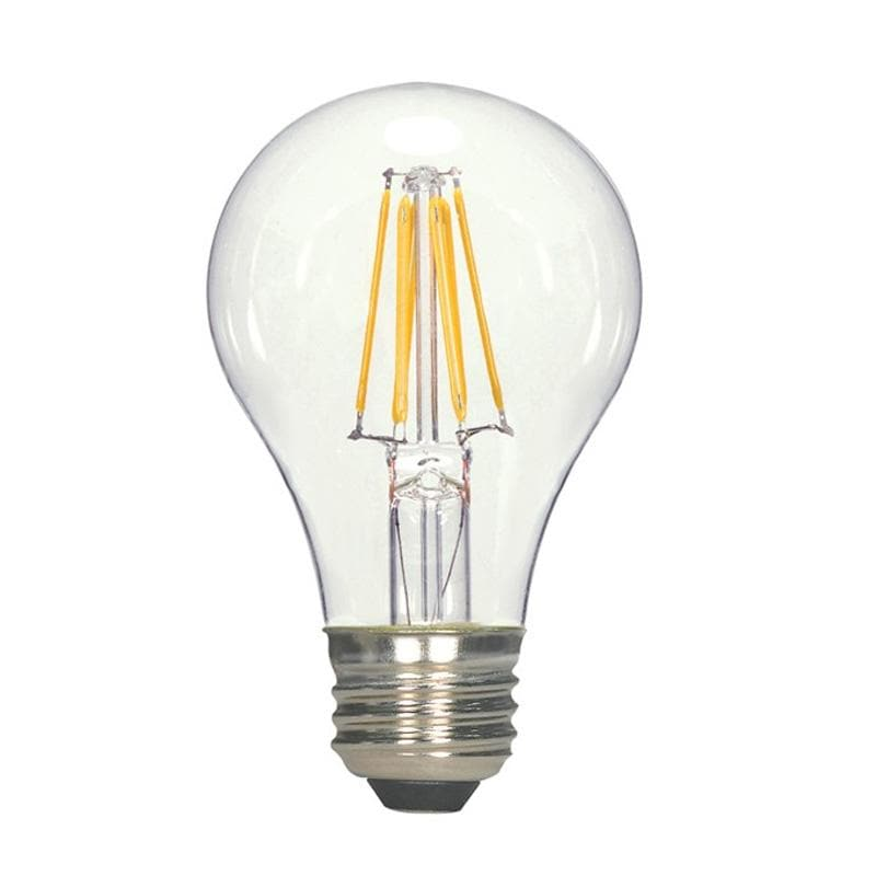 Satco Antique LED 7W A19 Dimmable 2700K S9562 Vintage Bulb - 60w equiv.