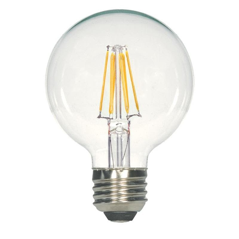 Antique Filament LED 4.5 Watt G25 Globe 2700K Vintage Bulb - 40w equiv.