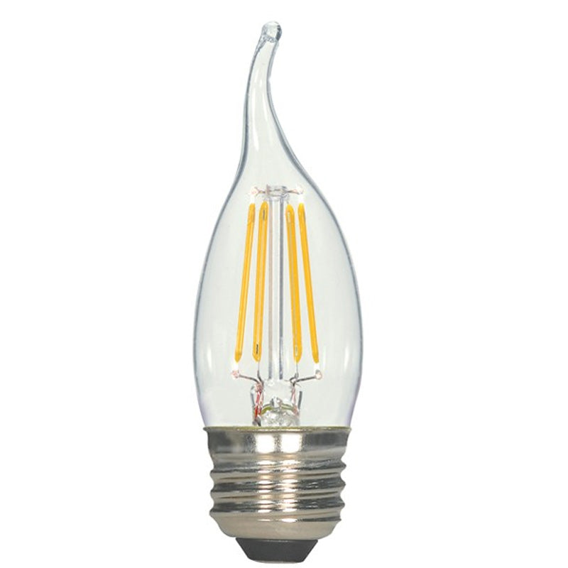 Antique Filament LED 4.5 Watt 2700K CA11 Turn-tip Bulb - 40w equiv.