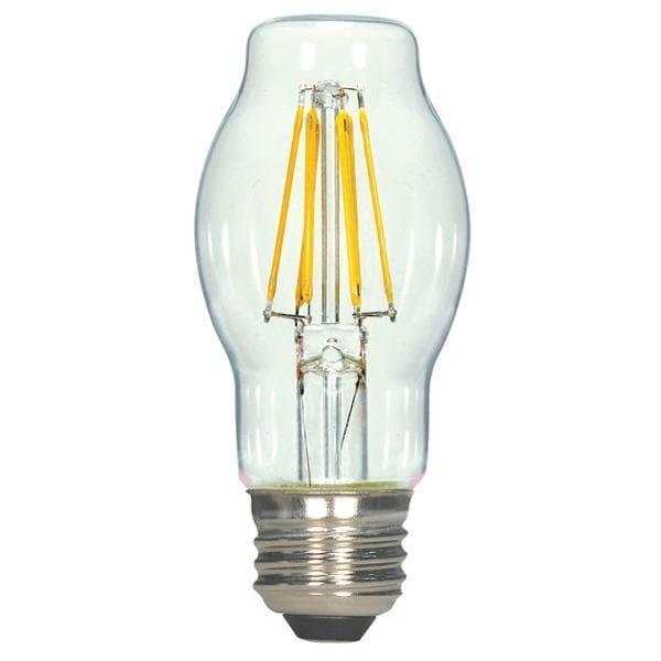 Antique Filament LED 6.5 Watt 2700K BT15 Shatterproof Vintage Bulb - 60w equiv.
