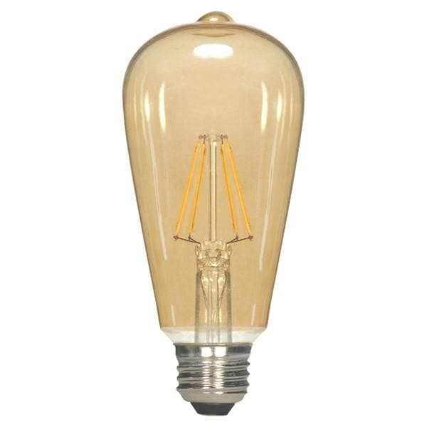Antique Filament LED 2.5 Watt 2300K ST19 2300K Vintage Bulb - 25w equiv.