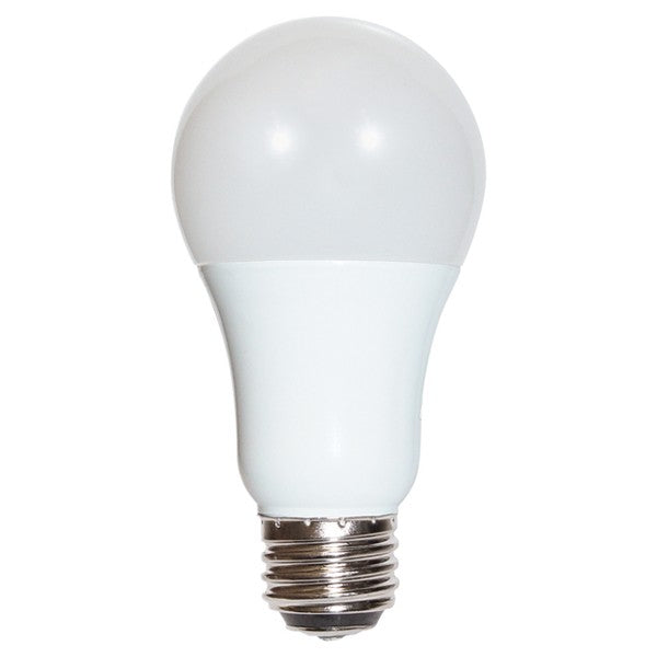 3/9/12w A19 LED 120v 3-way Frosted E26d Medium Double Contact base 5000K Natural Light