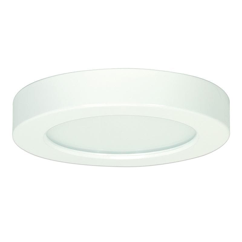 Satco Blink 10.5W LED 5.5 inch Round Ceiling Flush Mount Fixture