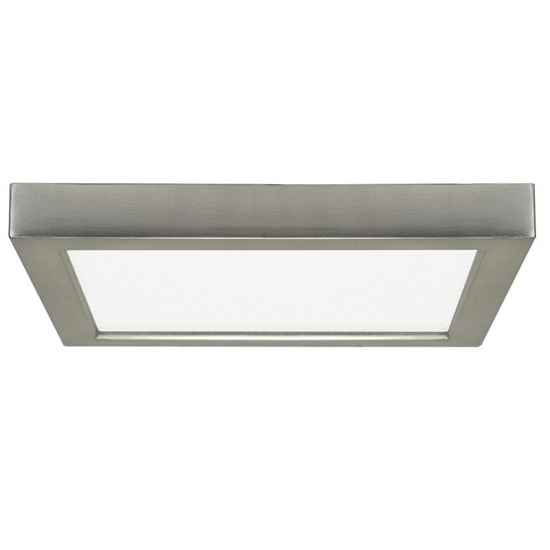 Satco Blink 18.5W LED 9 inch Square Ceiling Flush Mount Fixture