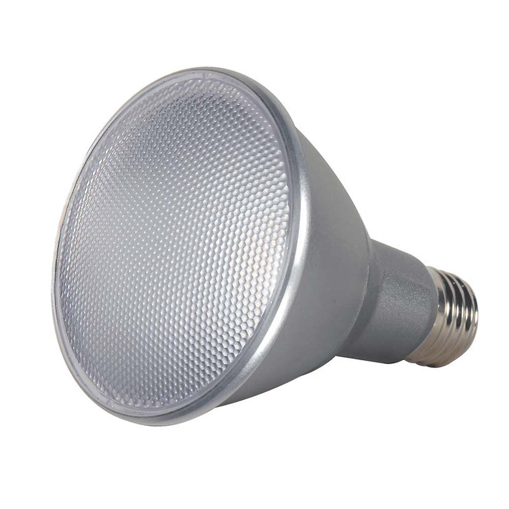 Satco S9433 13w PAR30L LED Dimmable 4000k Flood bulb - 75w equivalent