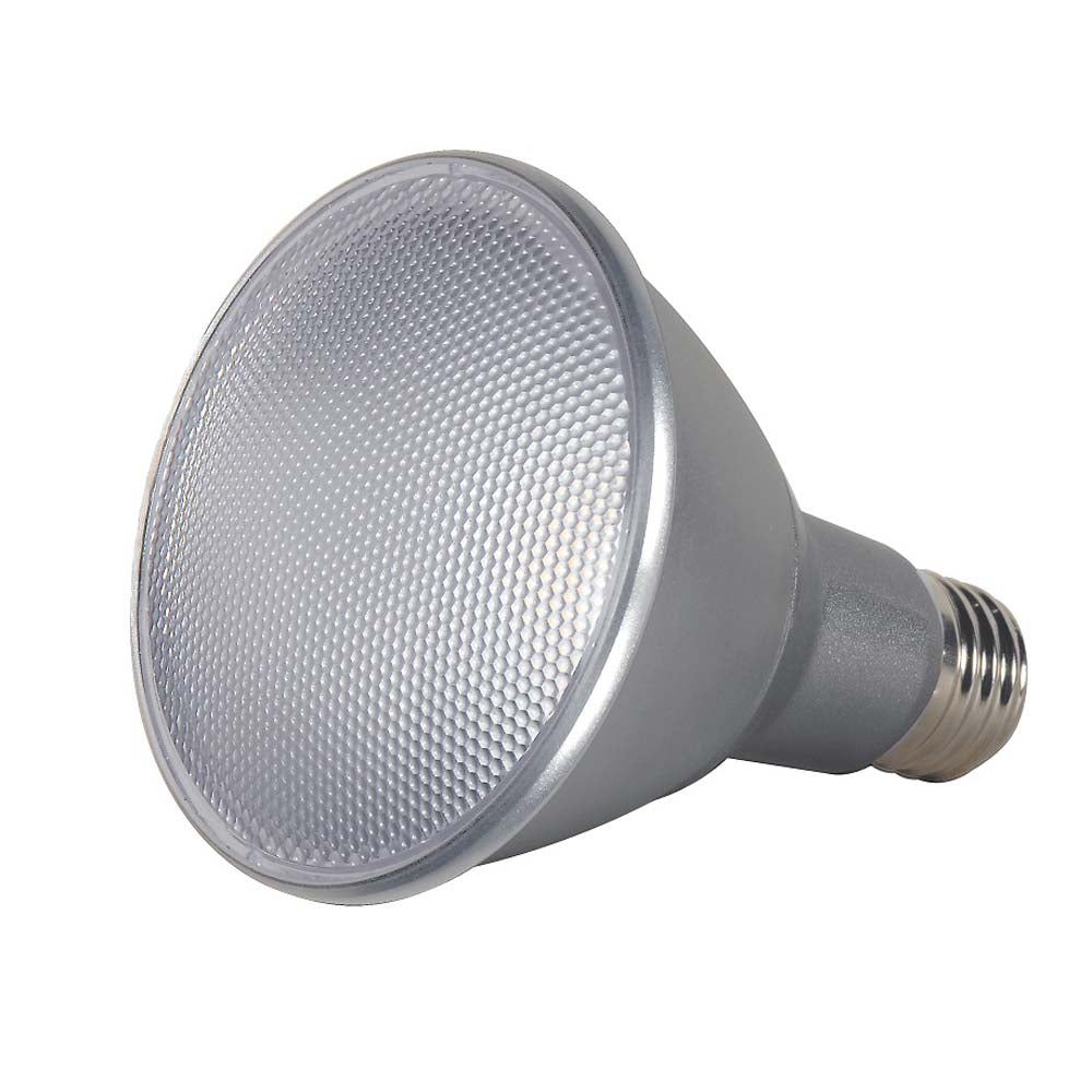 Satco S9434 13w PAR30L LED Dimmable 5000k Flood bulb - 75w equivalent