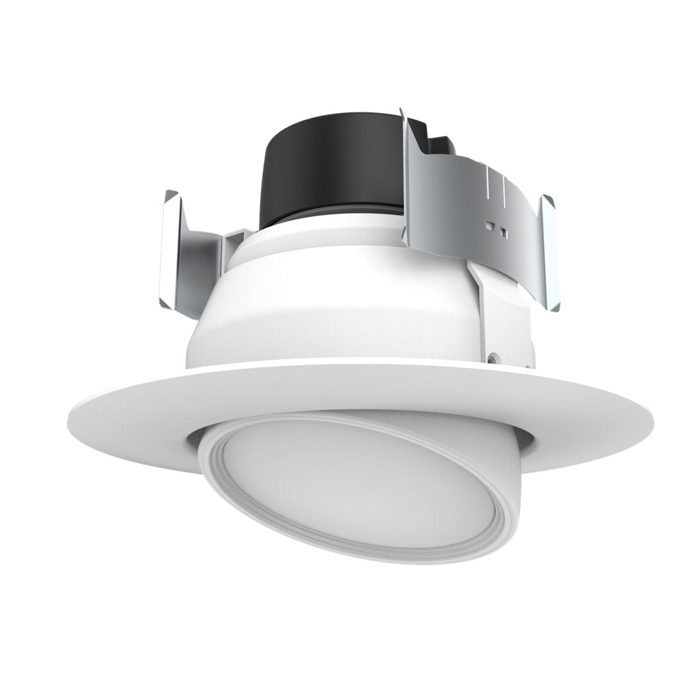 Satco 9w 4in. LED Directional Retrofit Downlight 2700K Warm White - Dimmable