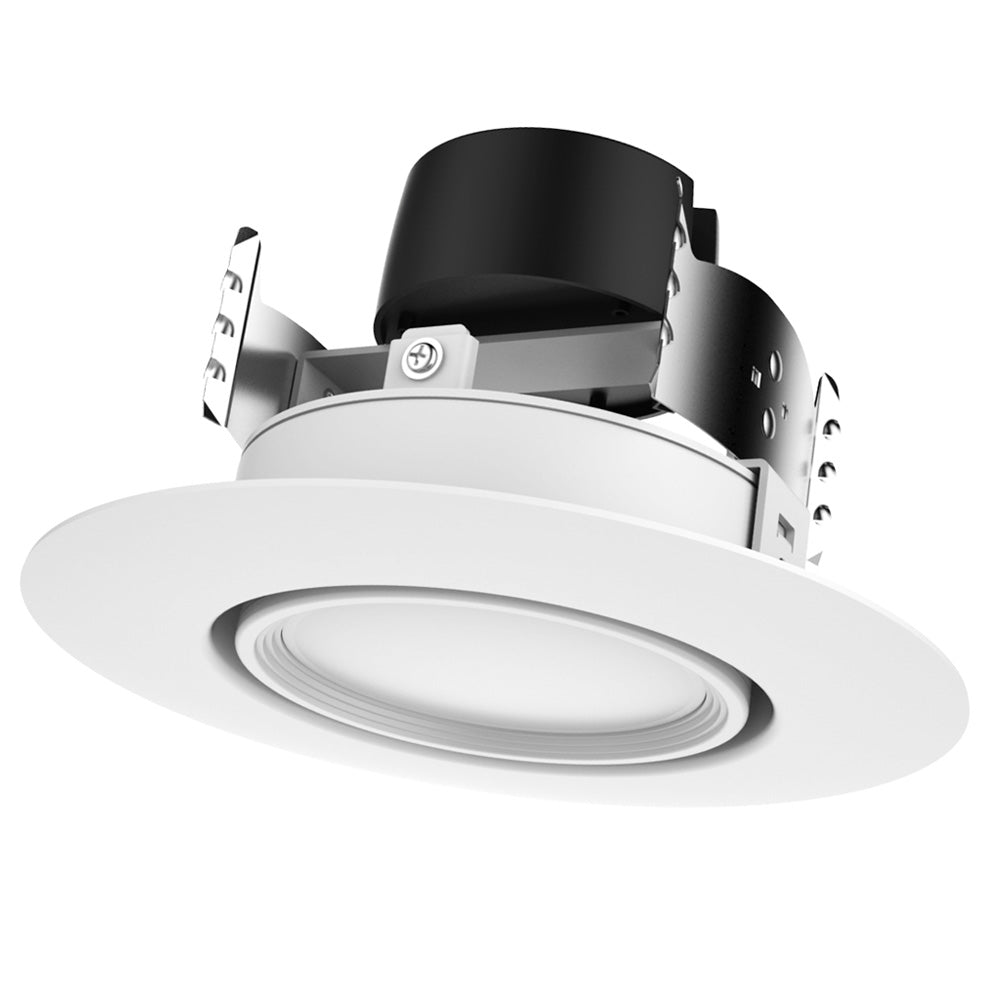 Satco 9w 4in. LED Directional Retrofit Downlight 4000K Cool White - Dimmable