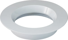 "4"" Round Trims, Option for 4"" base unit - White finish"