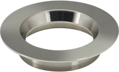 "4"" Round Trims, Option for 4"" base unit - Brushed Nickel finish"