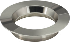"4"" Round Trims, Option for 4"" base unit - Polished Nickel finish"