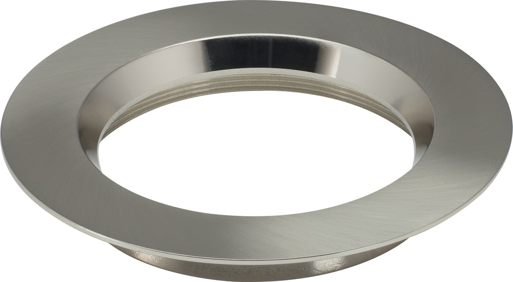 "5"" Round Trims, Option for 5"" / 6"" base unit - Brushed Nickel finish"