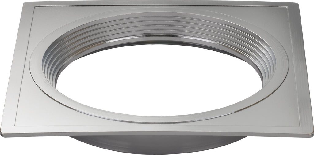 "4"" Square Trims, Option for 4"" base unit - Polished Nickel finish"