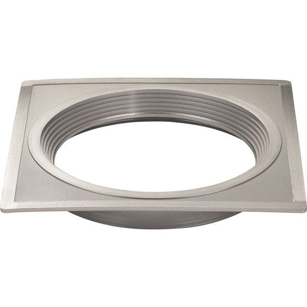 "5"" Square Trims, Option for 5"" & 6"" base unit - Brushed Nickel finish"
