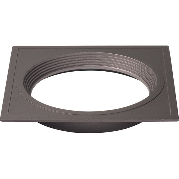 "5"" Square Trims, Option for 5"" & 6"" base unit - Bronze finish"